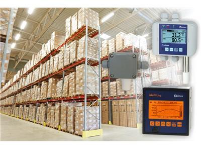 ảnh 2. Ví dụ về các thiết bị giám sát các thông số trong nhà kho, từ trên xuống: ProSens QM-211; TRS-01a; SRD-99