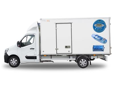 ảnh 3. Ví dụ về các thiết bị ghi các thông số trong vận chuyển, từ trên cao: MicroLog; MicroLite; IAS