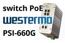 Switch PoE Westermo PSI-660G-24V